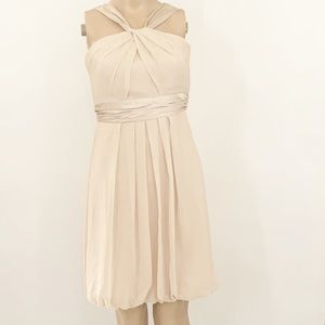 David's Bridal Jr Bridesmaid Dress Sz 14
